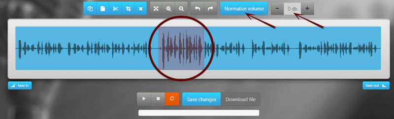 How to edit music or songs with our free online audio cutter?